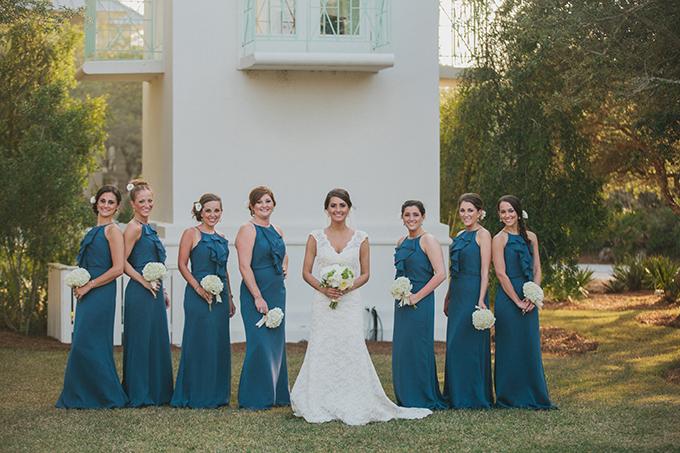 blue bridesmaids   pure7studios
