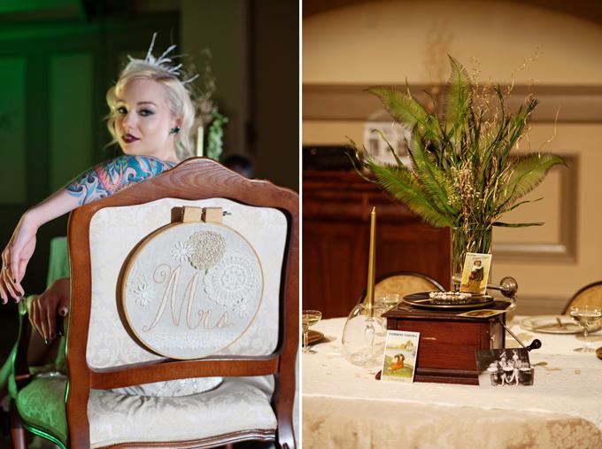 art deco handmade chair details | Ellen Bucher Photography