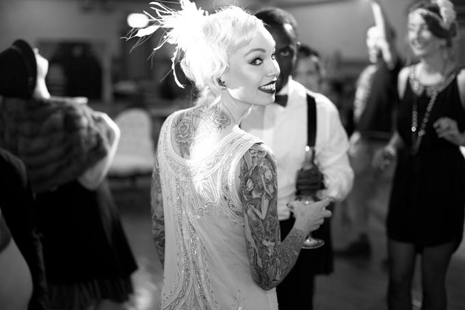 art deco emerald and gold wedding inspiration | Ellen Bucher Photography