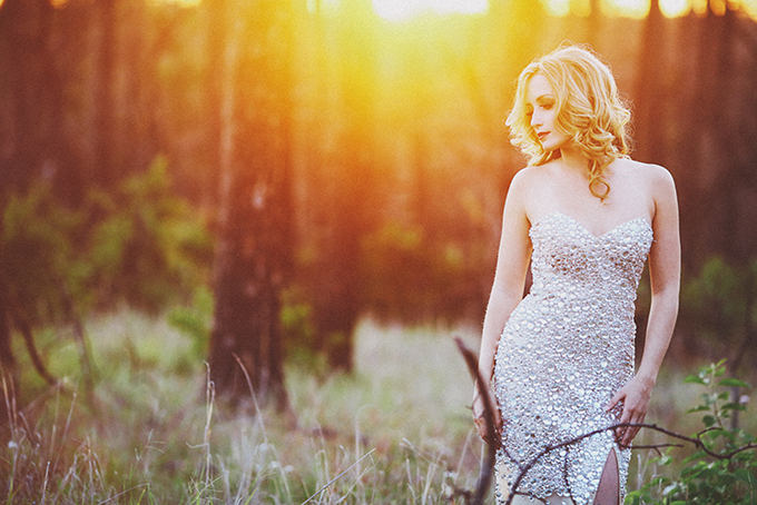 glam forest bridals   Christina Carroll Photography