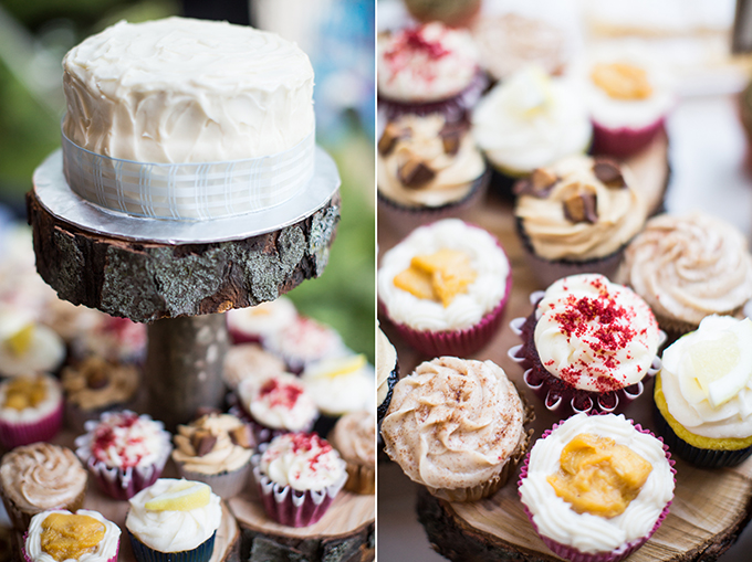 rustic cake | Brianna Wilbur Photography