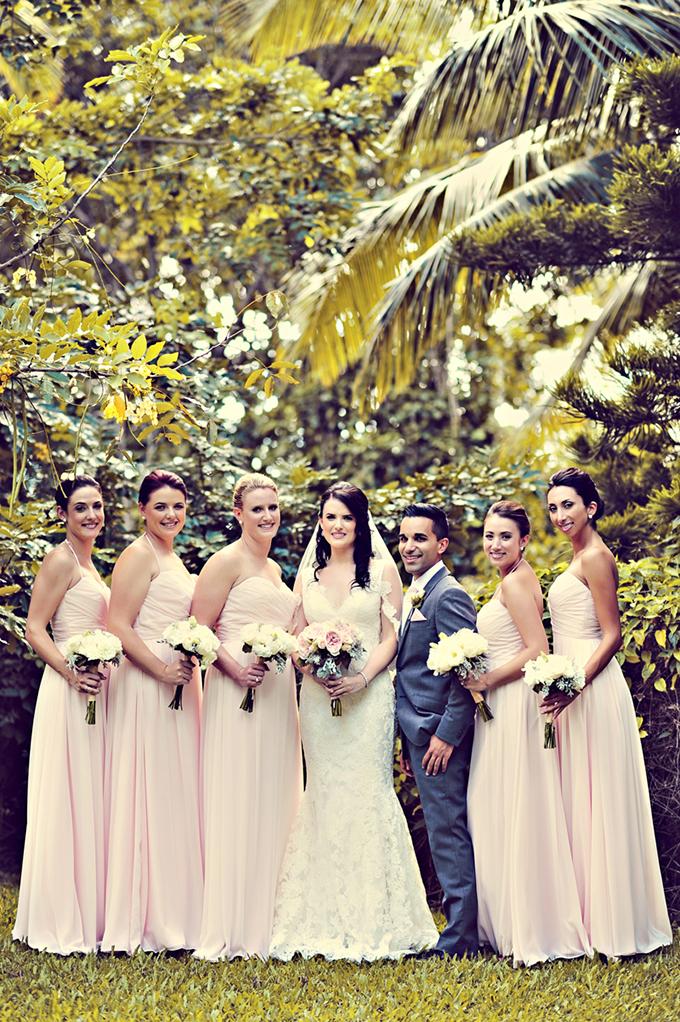bluash bridesmaids | Tamiz Photography