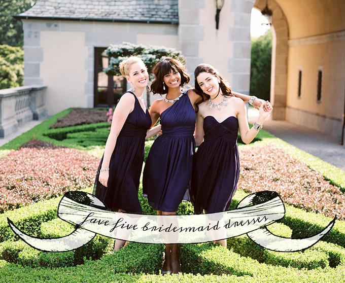 Fave 5 Bridesmaid Dresses | Donna Morgan | Glamour & Grace
