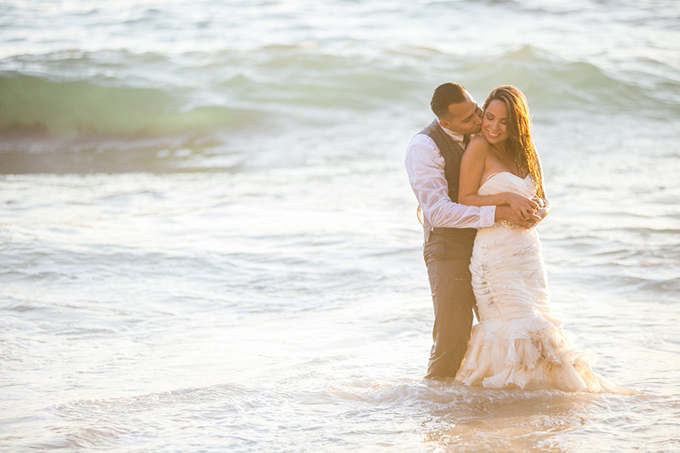 Laguna Beach trash the dress shoot | Andy Rodriguez Photography | Glamour & Grace