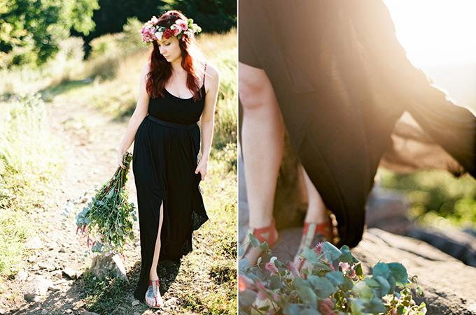 bohemian DIY floral inspiration | Josh Deaton Photography | Glamour & Grace