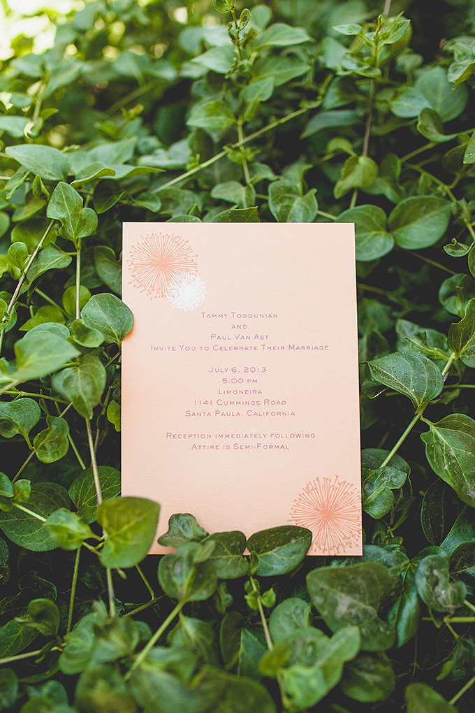 orange invitation | wild{whim} design + photography | Glamour & Grace