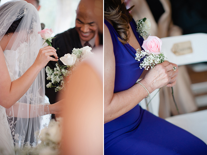 rose ceremony | Marcella Treybig Photography | Glamour & Grace