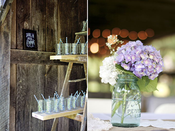 rustic handmade wedding | Holly Cromer Photography | Glamour & Grace