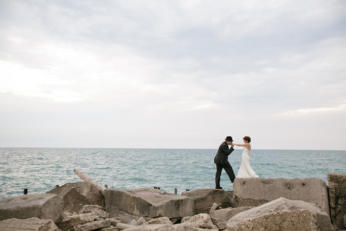romantic beach post wedding shoot | Shane Welch Photography | Glamour & Grace