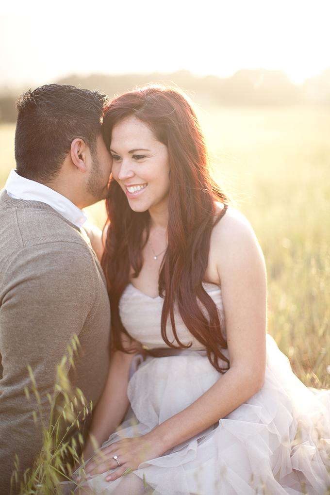 romantic sunset engagement | Diana McGregor Photography | Glamour & Grace
