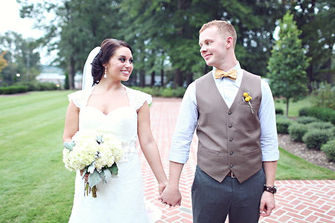 southern yellow and gray wedding | j.woodberry photography | Glamour & Grace