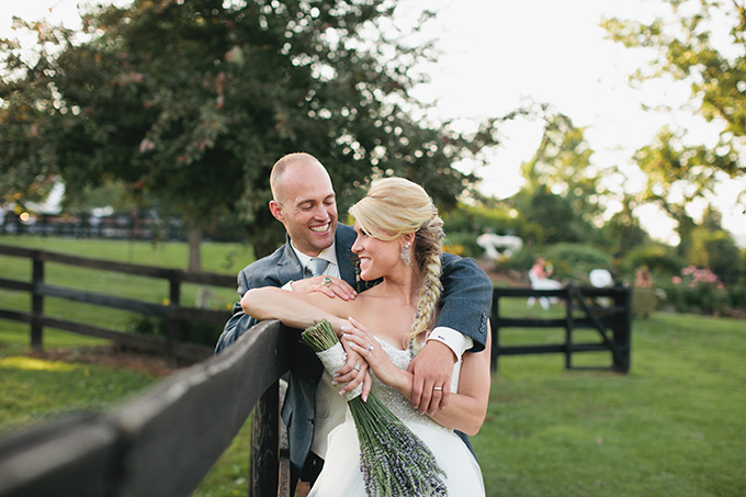 rustic lavender wedding | Courtney Reese Photography | Glamour & Grace