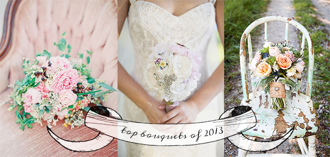 top bouquets of 2013 | Glamour & Grace