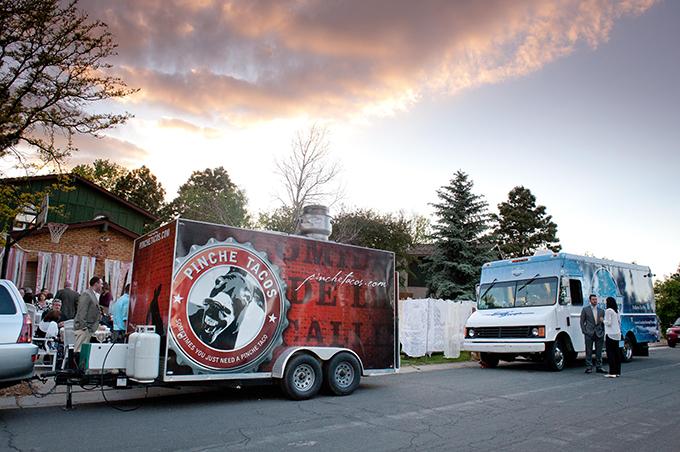 food truck wedding | Ellen Jaskol | Glamour & Grace