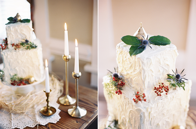 romantic fall cake | Jessica Mae Photography | Glamour & Grace