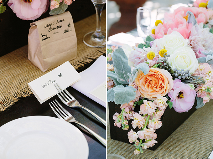 romantic pink summer wedding | Snapmotive | Glamour & Grace