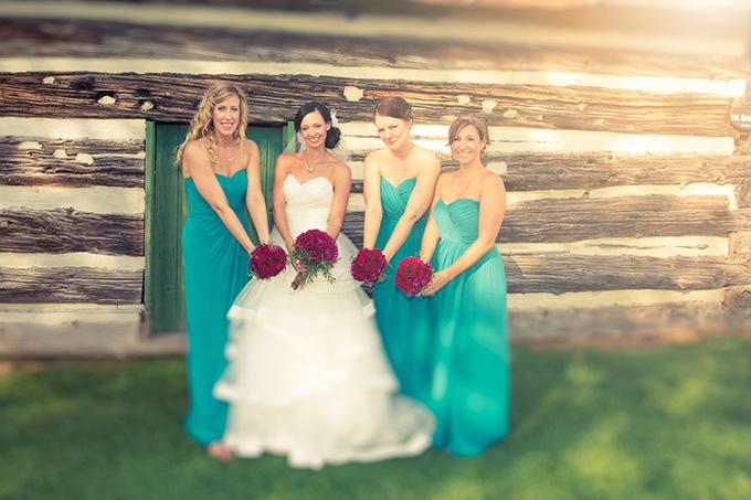 teal bridesmaids | Kandid Weddings Photography | Glamour & Grace