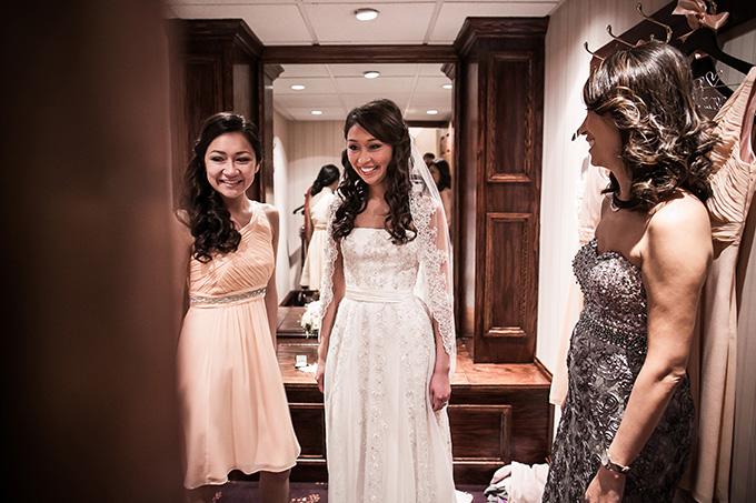 bride getting ready | Femina Photo + Design | Glamour & Grace