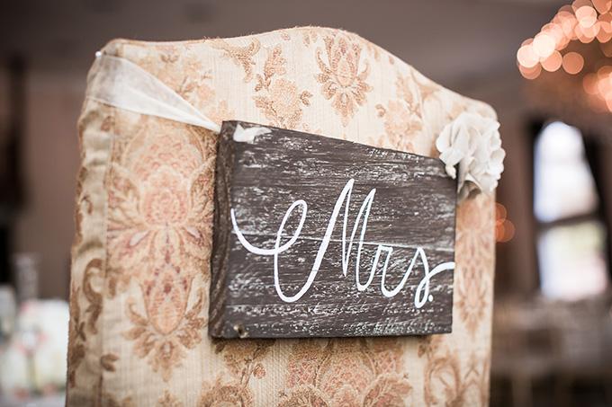 rustic Mrs sign | Femina Photo + Design | Glamour & Grace
