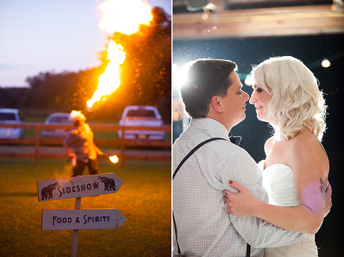 vintage circus wedding | Esther Louise Photography | Glamour & Grace