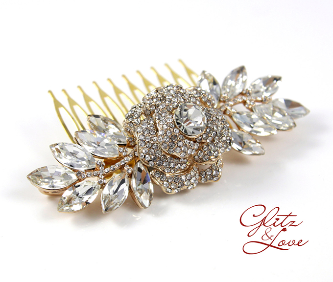 bridal jewelry | Glitz & Love | Glamour & Grace