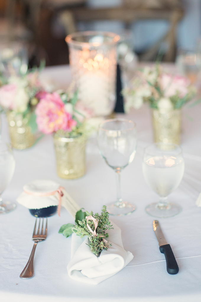 romantic place setting | Melissa Gidney Photography | Glamour & Grace