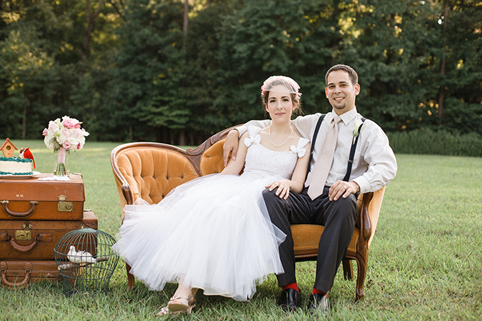 vintage wedding portrait session | Live View Studios | Glamour & Grace