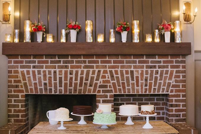 cake table | Paige Winn Photo | Glamour & Grace