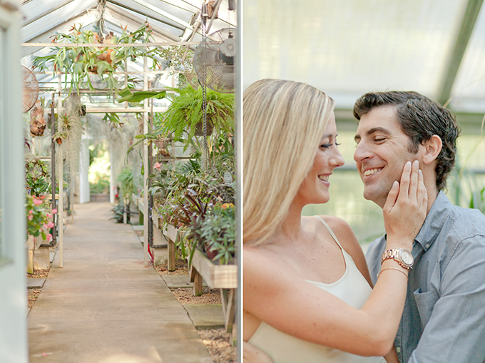 garden engagement session   Jamie Lefkowitz Photography   Glamour & Grace
