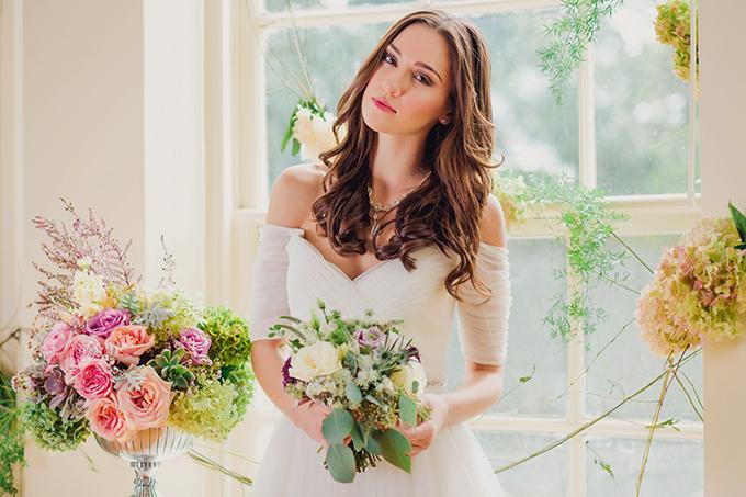 romantic garden wedding inspiration | Kate's Lens Photography | Glamour & Grace