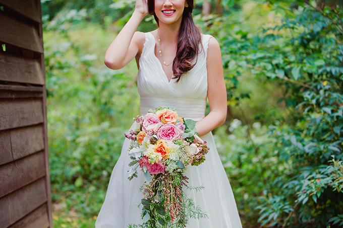 lush bouquet | Kate's Lens Photography | Glamour & Grace