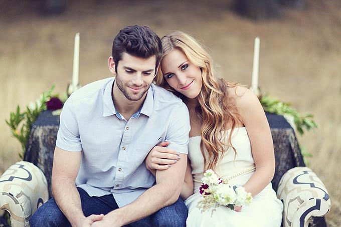romantic rustic winter wedding inspiration | Lukas & Suzy VanDyke | Glamour & Grace