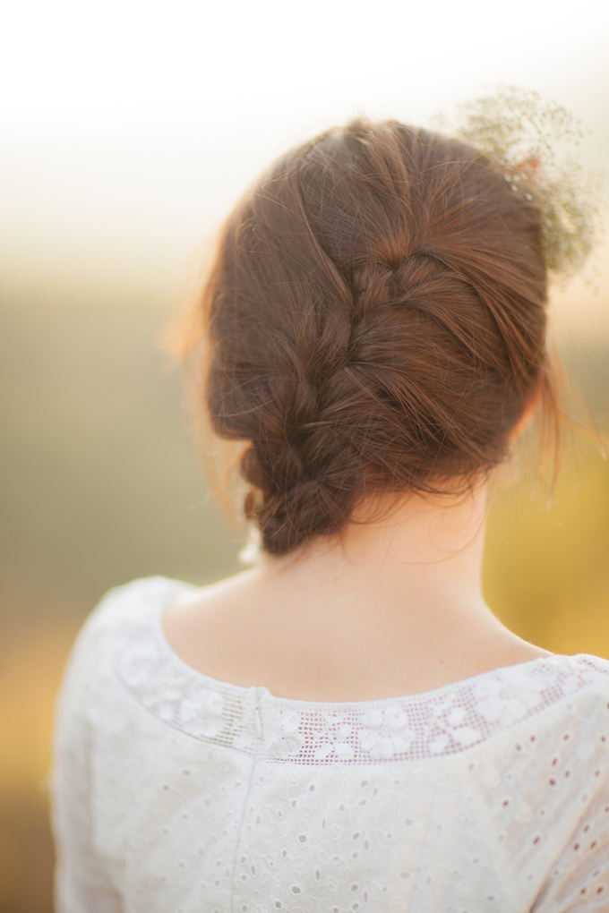 wedding braid | Peter & Veronika | Glamour & Grace