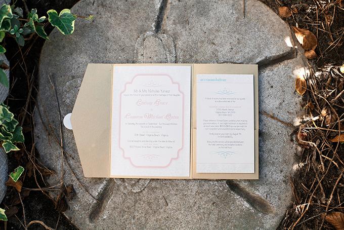 pink invitation | Kacie Lynch Photography | Glamour & Grace