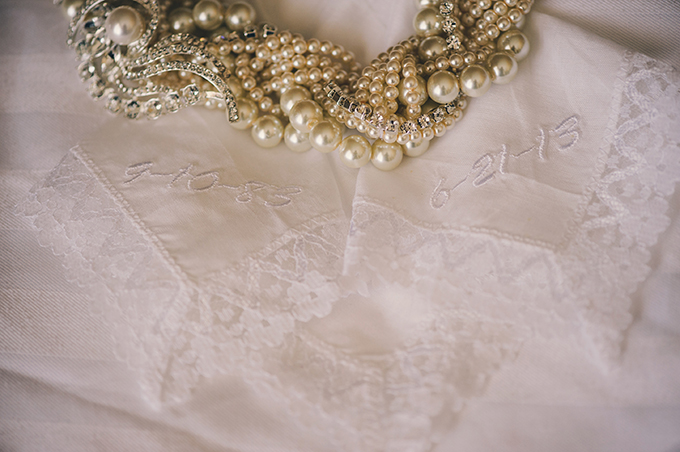 embroidered hankies | Katie Slater Photography | Glamour & Grace