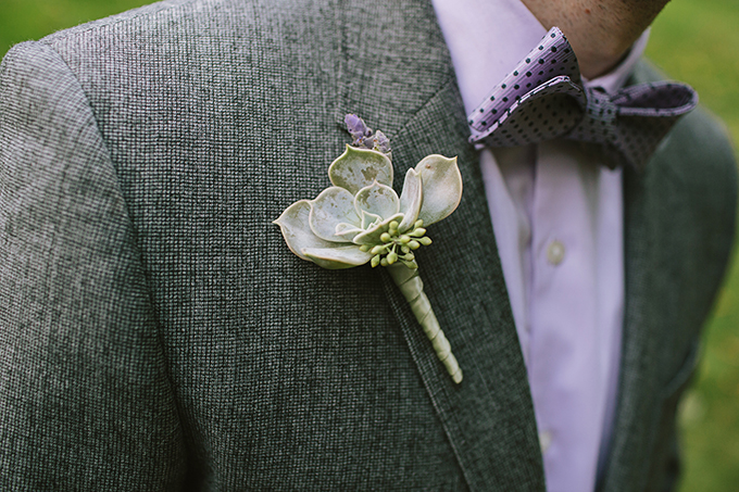 lavender and succluent bout | Brooke Courtney Photography | Glamour & Grace
