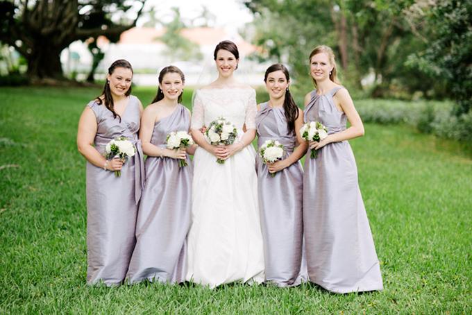 romantic handmade purple wedding | Michelle Kristine Photography | Glamour & Grace