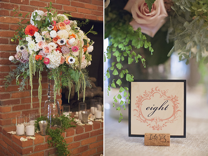 romantic orange wedding | Brooke Courtney Photography | Glamour & Grace