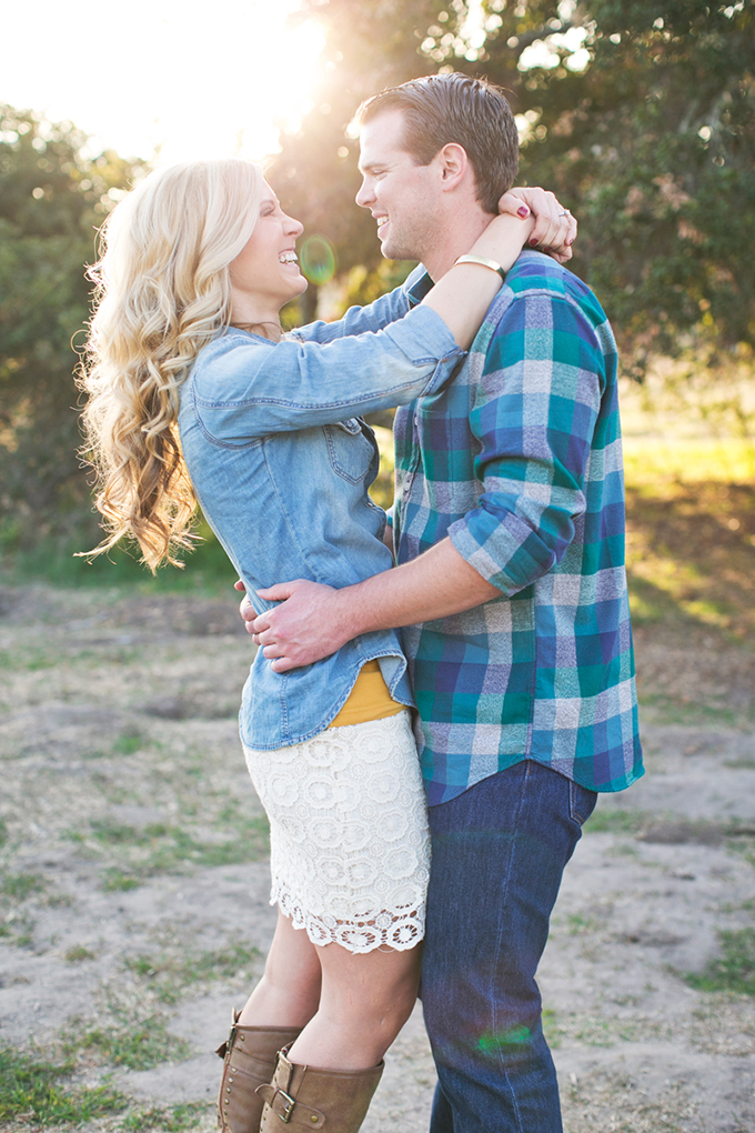 rustic Cali engagement | Alyssa Marie Photography | Glamour & Grace