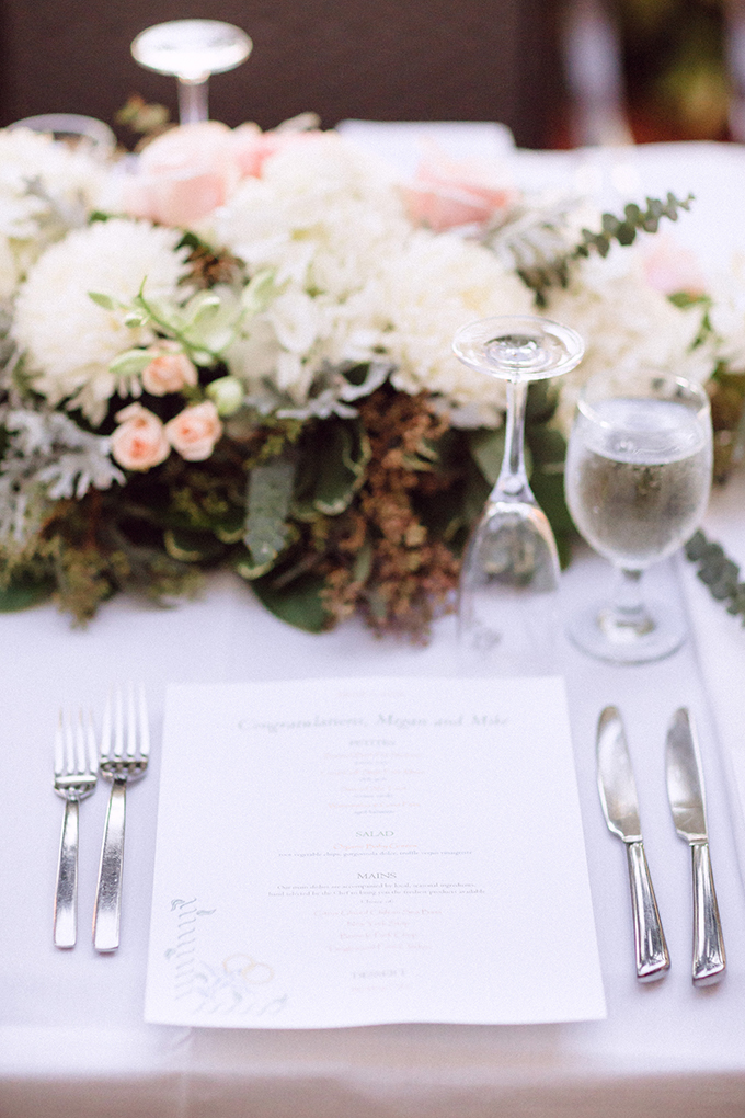 romantic place setting | Hunter Ryan Photo | Glamour & Grace