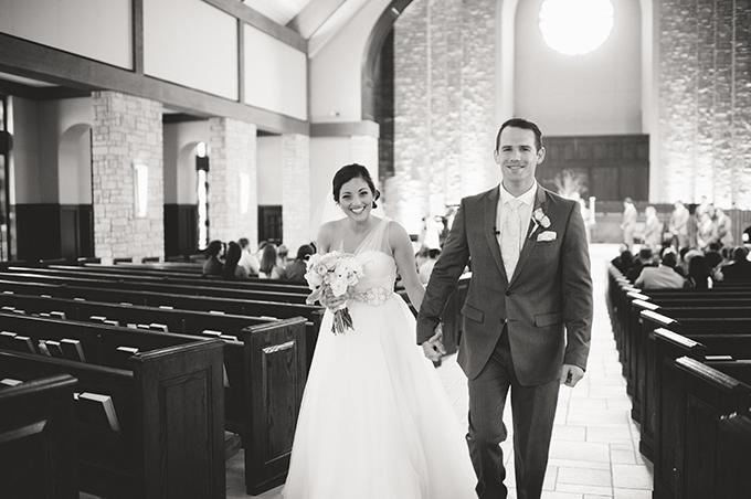 romantic blush wedding | Candi Coffman Photography | Glamour & Grace