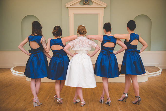 blue bridesmaids | BG Productions Photography | Glamour & Grace