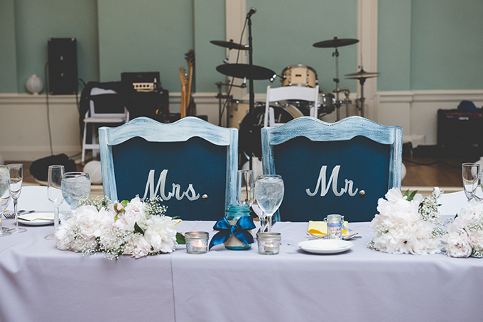 Mr and Mrs chairs | BG Productions Photography | Glamour & Grace