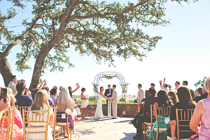 pink sequin winery wedding   Lindsey Gomes Photography   Glamour & Grace