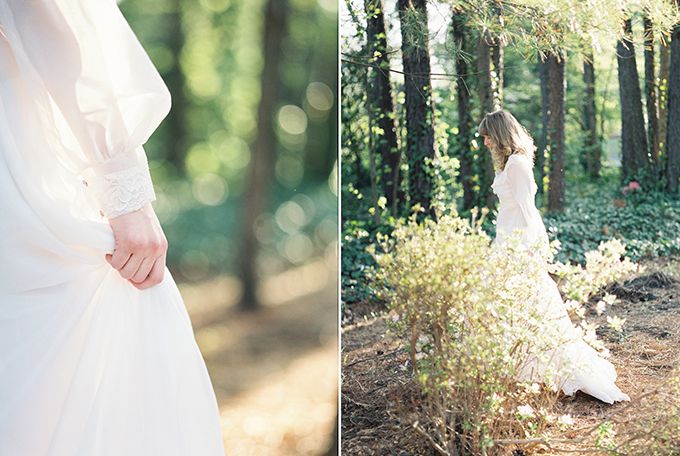 vintage bridal session | freshly wed | Glamour & Grace