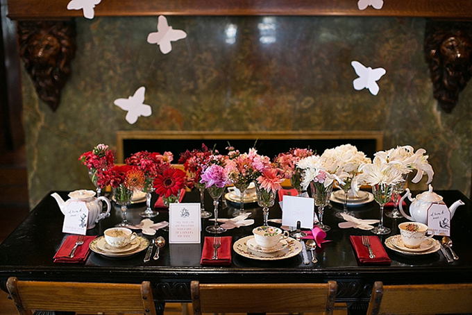 vintage tea party inspiration | Christy Tyler Photography | Glamour & Grace