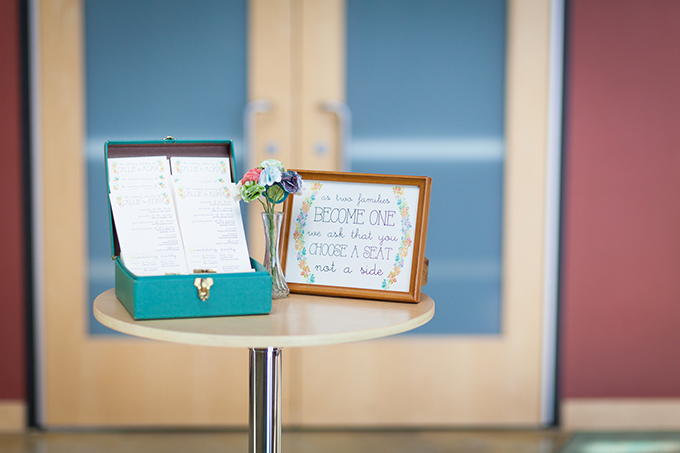 colorful DIY wedding | Maison Meredith Photography | Glamour & Grace