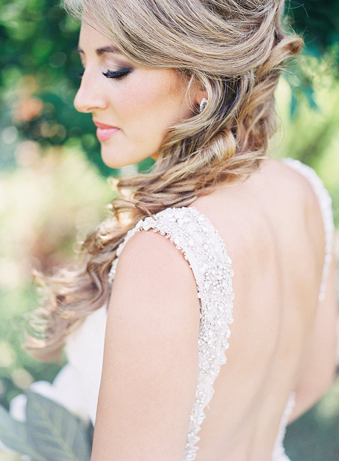 gorgeous low back gown | Tracy Enoch Photography | Glamour & Grace