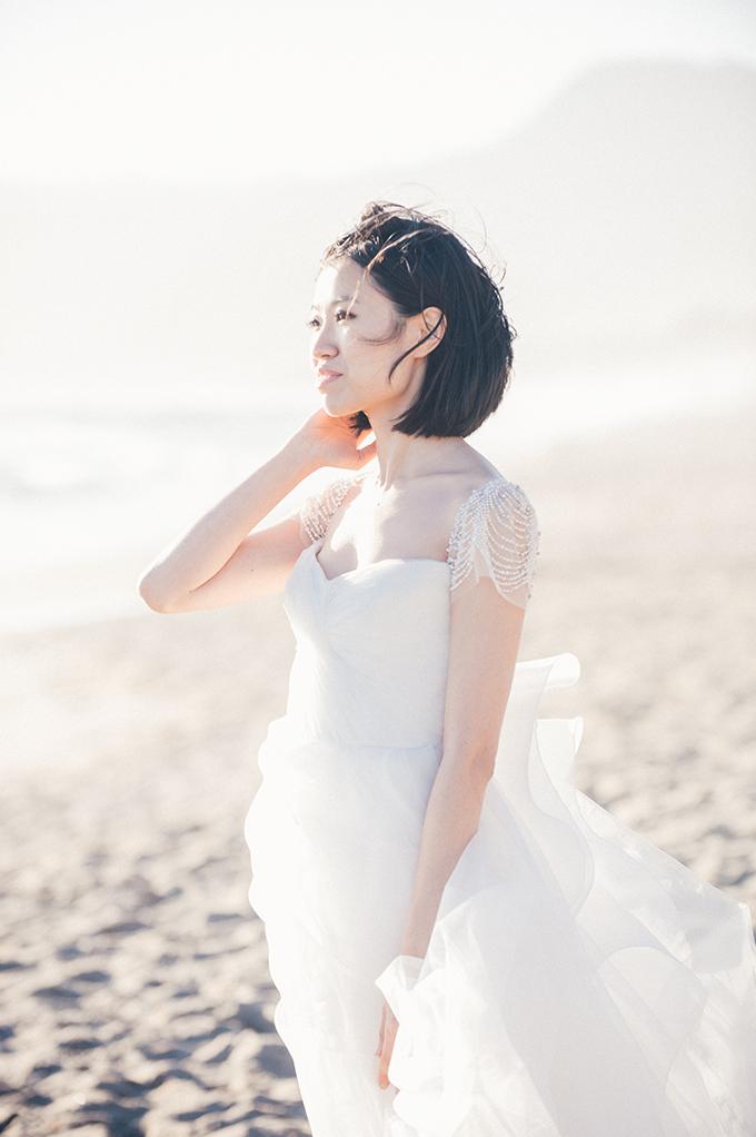 Reem Acra gown | Melissa Gidney Photography | Glamour & Grace