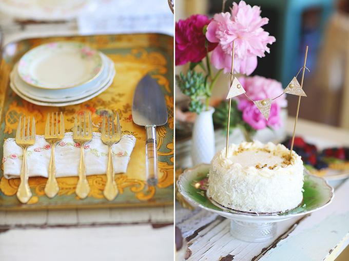 vintage succulent wedding inspiration   Melissa Enid Photography   Glamour & Grace